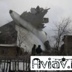 Boeing 747 упал на дачи Бишкека